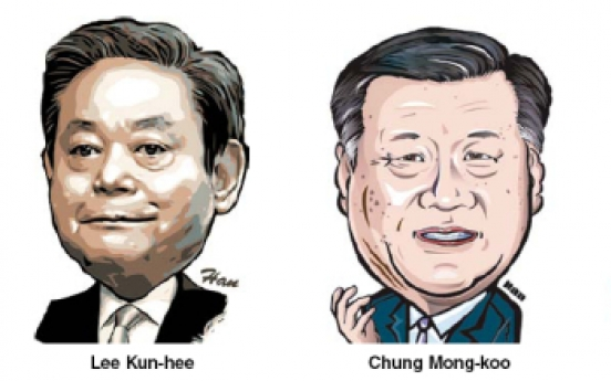 Three tycoons make Asia's top executive list