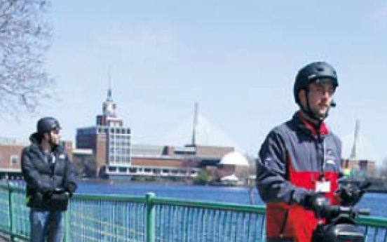 Boston science museum offering Segway tours