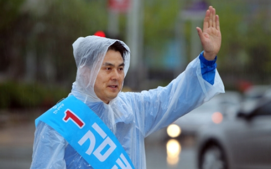[April 27 By-elections] 'Roh factor' runs high in Gimhae race