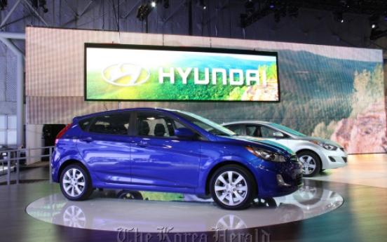 Hyundai, Kia show off wares in N.Y.