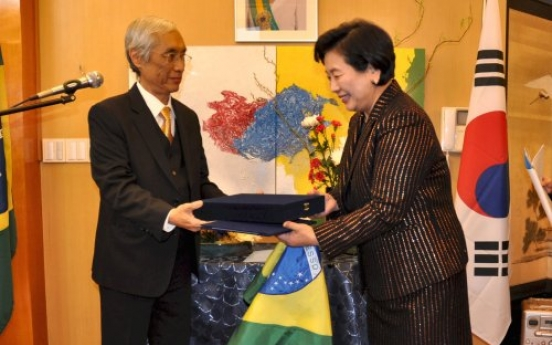 Brazil appoints Hyun as first honorary consul