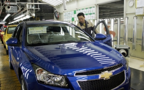 Chevrolet expansion fuels GM Korea exports