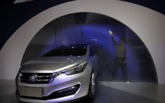 Automakers unveil local China brands