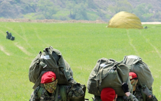 Elite Air Force troops sharpen combat skills