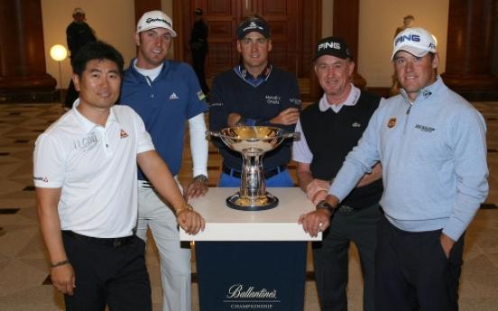 Top golfers to tee off in Korea