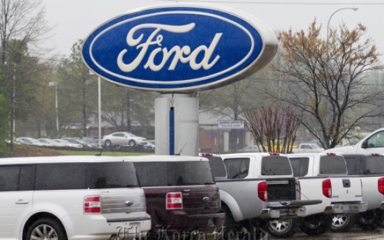 Ford posts best Q1 profit in 13 years