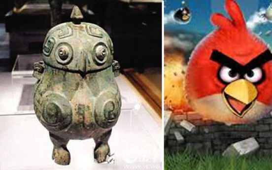 'Angry Birds' find a cousin in ancient China