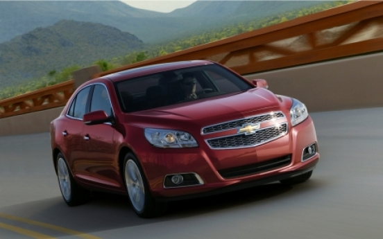 Korea to be first market for Chevrolet Malibu