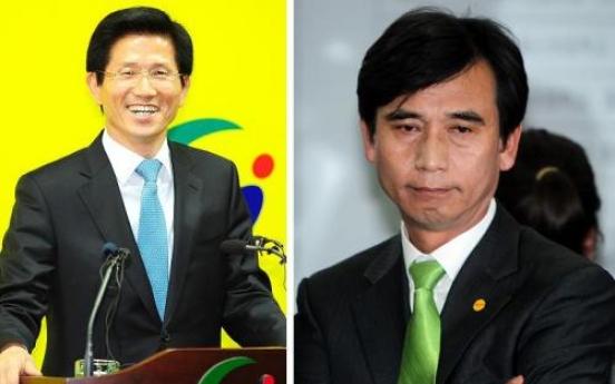 Presidential duel looms for Park, Sohn