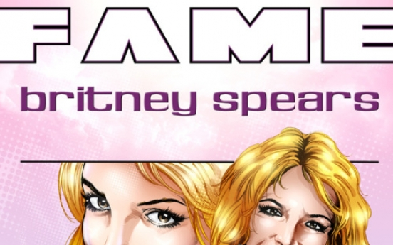 Britney Spears subject of biographic comic book