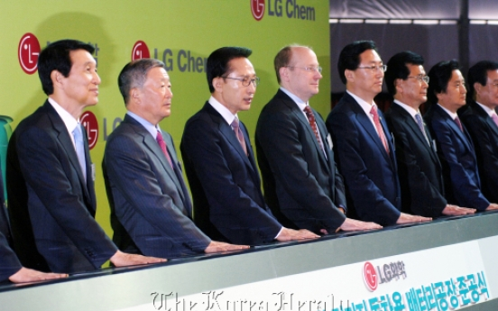 [Meet the CEO] LG Chem targets 25% global market share