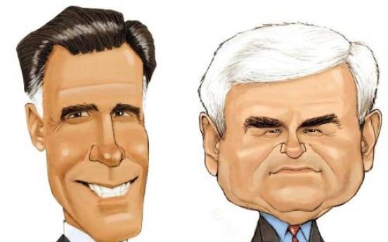 'Romney, Gingrich change Republican race'