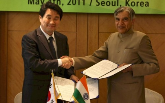 Teaming up Korea, India ...science and technology