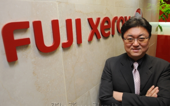 [Meet the CEO] Fuji Xerox aims to sell 100,000 printers