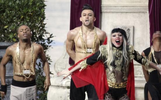 Gaga proves star power, again
