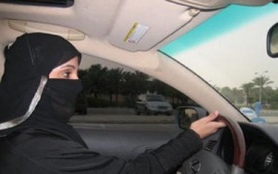 Saudi woman defies driving ban