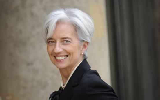 Germany backs Lagarde for IMF job