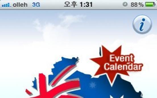 App showcases Australia year