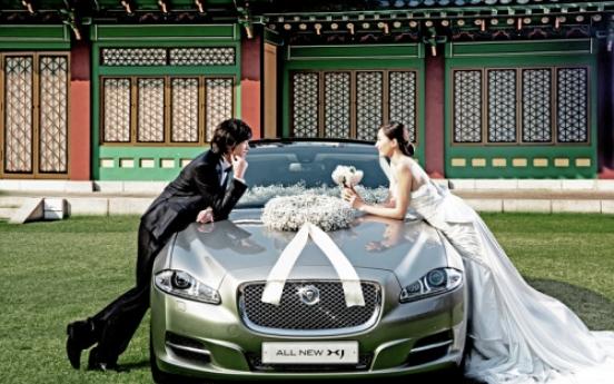 Jaguar Land Rover offers wedding cars