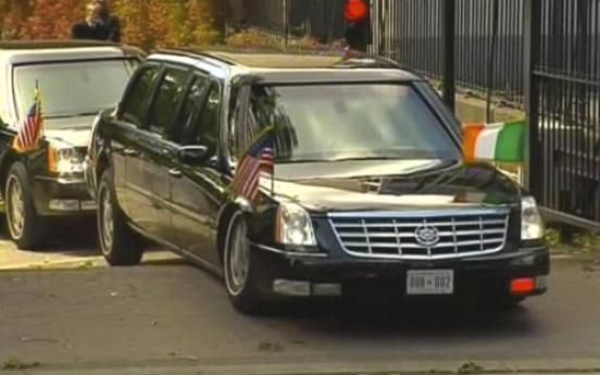 Obama's motorcade hits snag on Irish trip