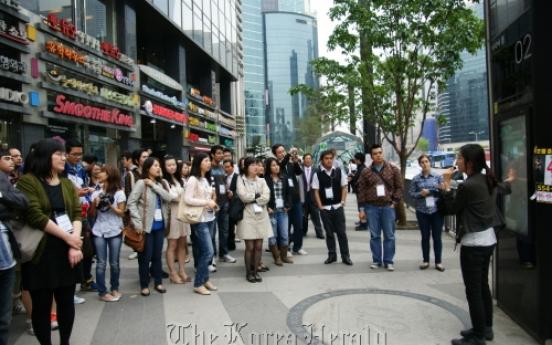 Expats promote tourist jewels of Gangnam