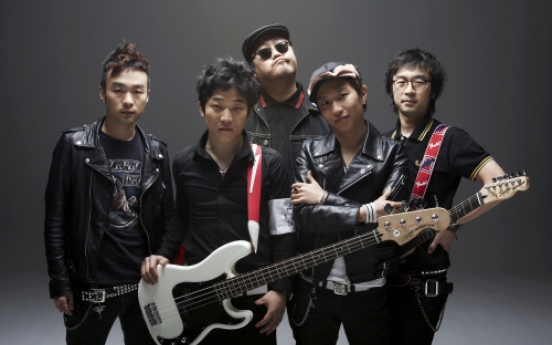 Korean punk band to record for Japan