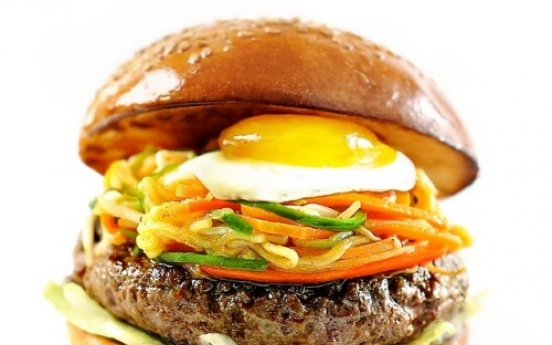 Bibimbap burger hits New York