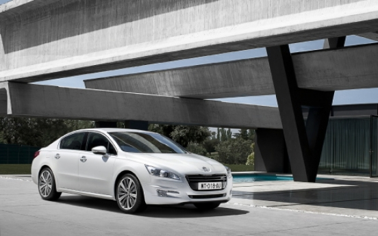 Peugeot 508 makes Asia-premier debut in S. Korea