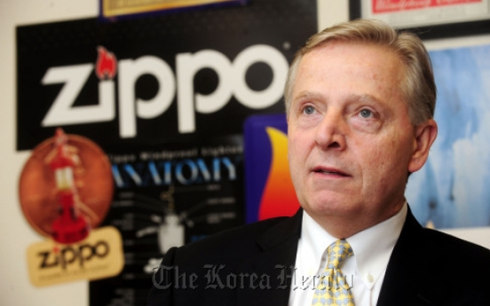 [Herald Interview] Zippo to ignite new flame in Korea: exec