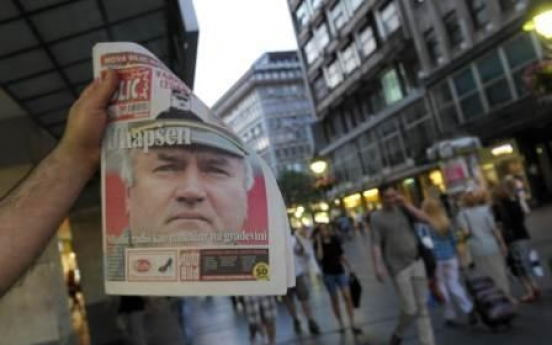 Serbia arrests Mladic on war crimes charges
