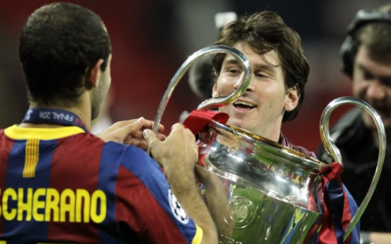 Messi's Barcelona beats Man United 3-1 in final