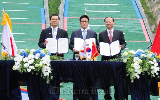 Korea, Japan, China to develop tour routes
