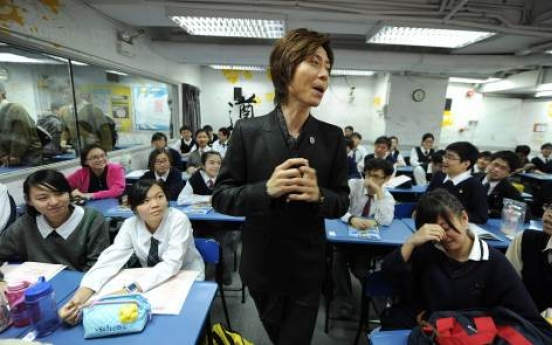 Exam-obsessed Hong Kong makes celebrities of tutors