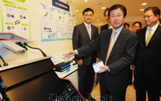 Samsung SDI vows energy supremacy