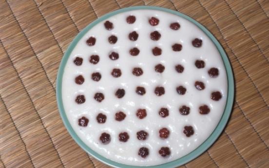 Jeungpyeon (Rice Wine Cake)
