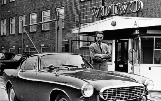 Volvo P1800 celebrate 50th anniversary