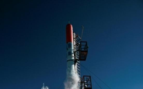 Homemade Danish rocket takes off