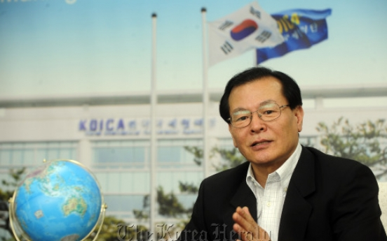 [Herald Interview] 'Korea will set new guidelines for international aid'