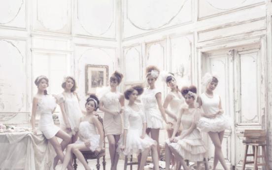 S. Korean girl group Girls' Generation tops Japanese chart