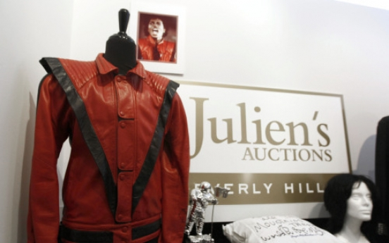 Jackson's 'Thriller' jacket to be auctioned