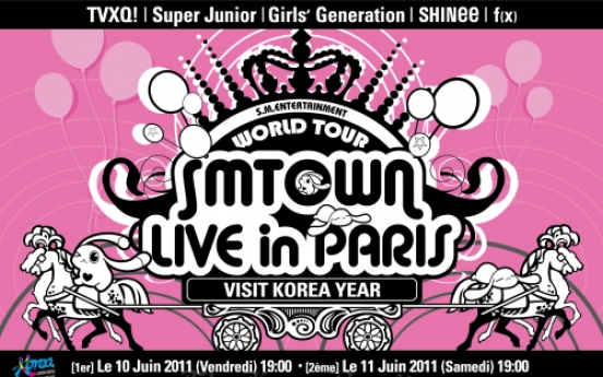 Paris K-pop concerts will be posted online