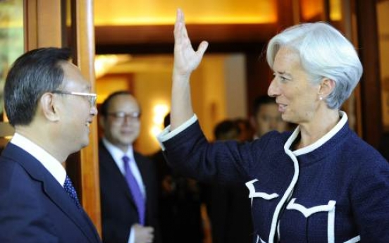 Lagarde: Pleased with China talks