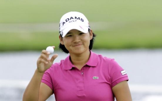 Taiwan's Tseng seizes LPGA lead