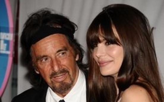 Lucky guy: Pacino's new girlfriend 40 years his junior