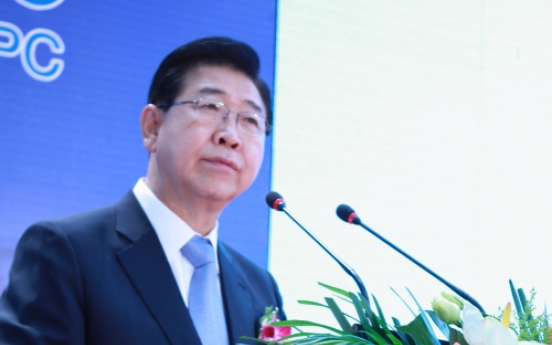 POSCO opens 1st overseas facility for processing steel thick plates