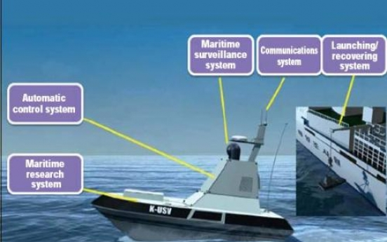 Korea to build unmanned boats for research, surveillance