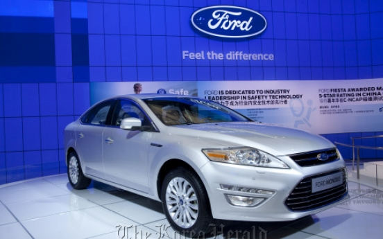 Recharged Ford sets sights on Asia
