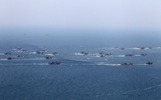 Nine North Koreans defect to South by sea, Seoul officials say