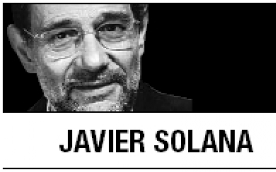 [Javier Solana] Time to reset Turkey-EU relations