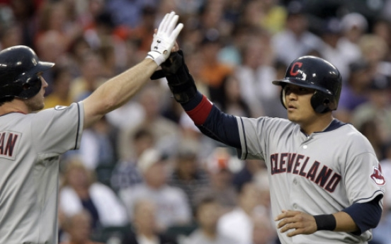 Tribe ride big 4th inning to win